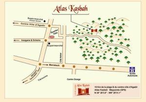 Agadir - Atlas Kasbah: 15km