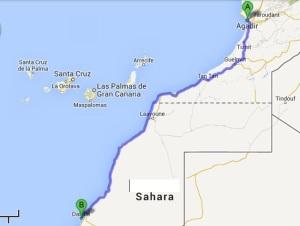 TWIKE MAROC TOUR Agadir - Dakla: 1200km