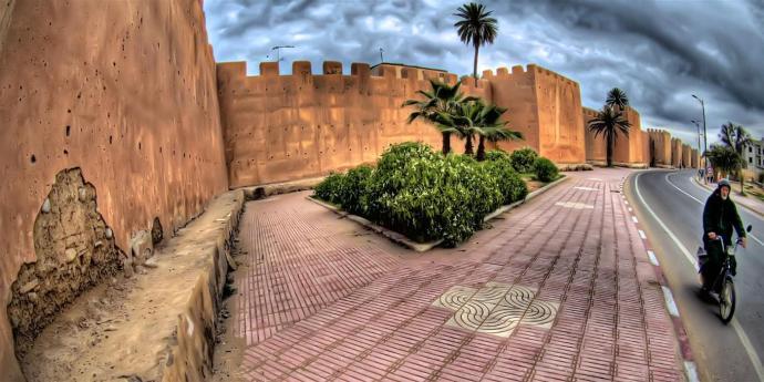 taroudant_walls_motorcycle_morocco