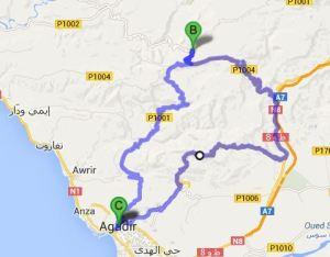 TWIKE MAROC TOUR Immouzzer: 150km